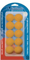 Pack of 10 Orange Garlando Table Footballs