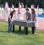 Garlando G500 Weatherproof Football Table - Outdoor Fun