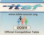 ITSF Official Tournament Table