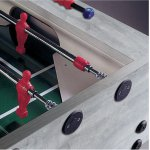 Garlando G500 Oakwood Grey Football Table - Telescopic Rods
