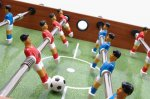 Garlando F1 Semi Professional Freeplay Football Table - Adjustable Leg Levellers - Playing Surface