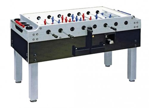 Garlando Silver Olympic Coin Operated Football Table