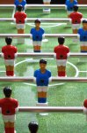 Garlando F1 Semi Professional Freeplay Football Table - Red and Blue Players